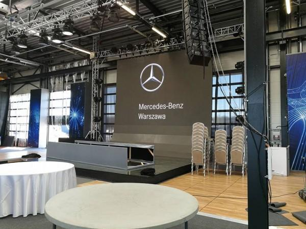 mercedes hale namiotowe na event